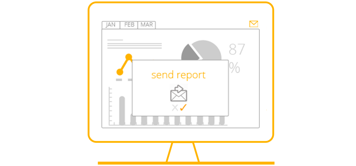 The Reporting control panel of the Delio Lead Management platformby Walmeric makes statistical and analytical tools available to you so that your marketing and sales team have full visibility on the status of each of their leads in the sales funnel