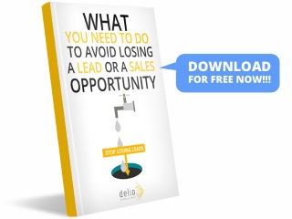 What you need to do to avoid losing a lead or a sales opportunity