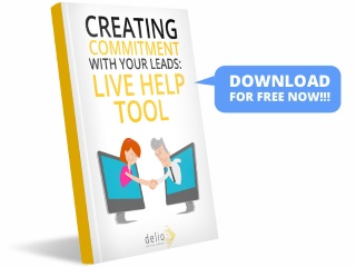 Create lead commitment: Live Help Tool