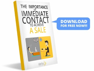 The importance of immediate contact to achieve a sale